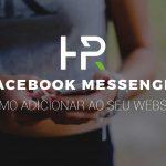 Como adicionar facebook messenger ao seu website