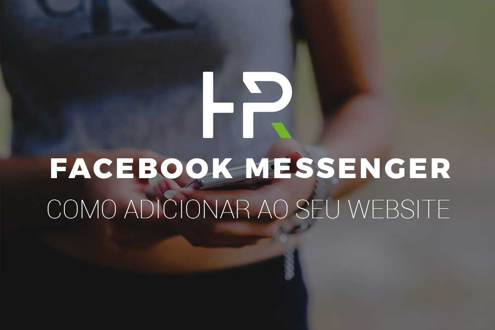 Como adicionar facebook messenger ao seu website