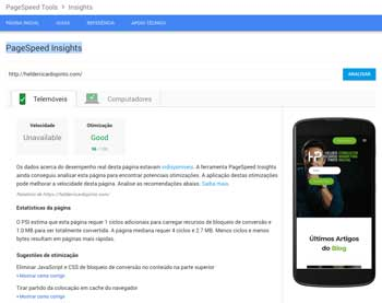 Google SpeedTest Mobile