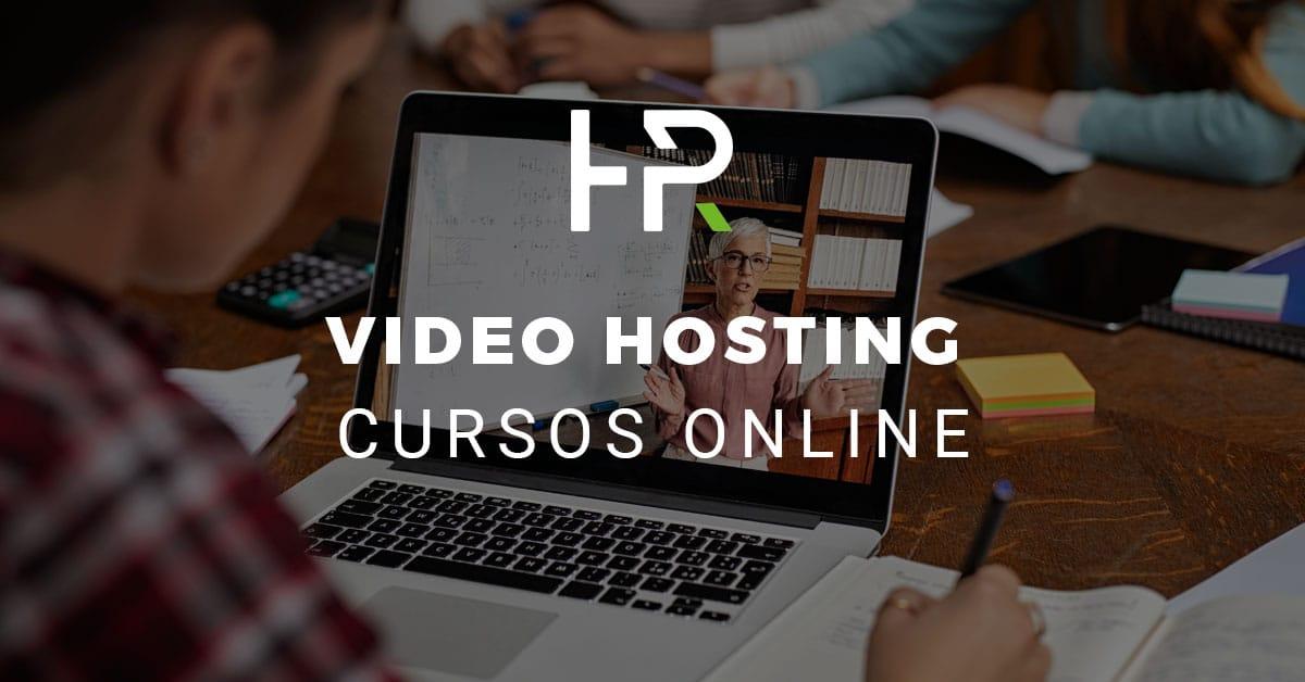 video hosting para cursos online